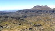 Cederberg Wilderness Area  - Aerial View - Western Cape,  West Coast District Municipality,  Cederberg,  South Africa video