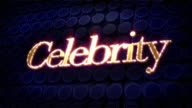 Celebrity Sparkle Glitz Text video