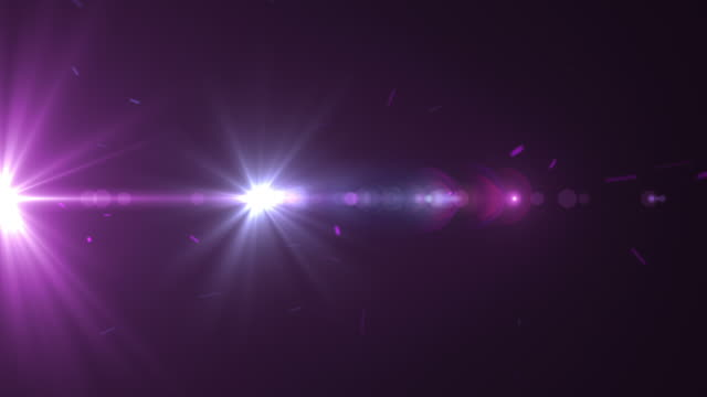 Celebrity Spotlights And Lens Flares - Loop video