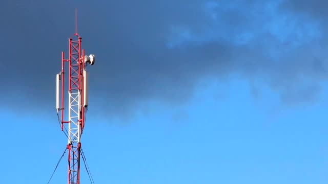 Cell phone tower video