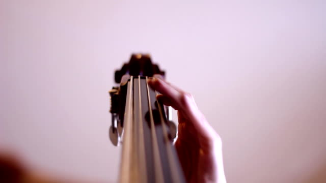 Cello player (HD) video