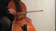 Cello playing With a Bow video