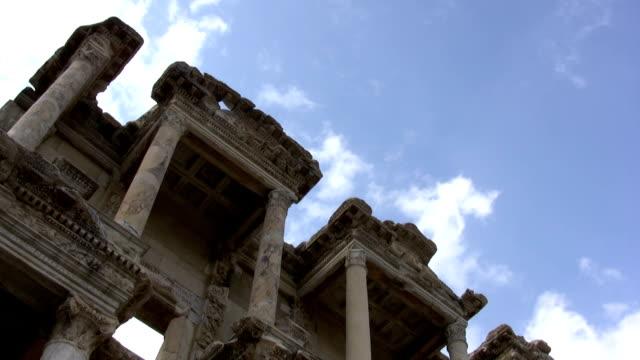 Celsus Library,Ephesus in Turkey video