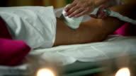 HD MACRO: Celulite massage video