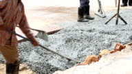 cement pouring video