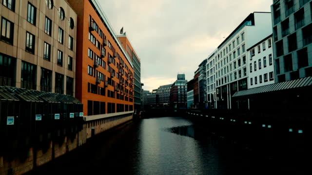 Center of Hamburg, Germany video