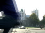 Central London Traffic at Westminster Abbey video