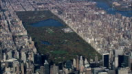 Central Park - Aerial View - New York,  New York County,  United States video
