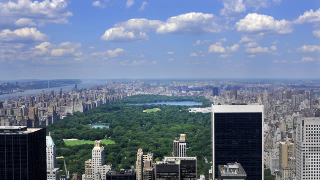 Central Park and Manhattan video