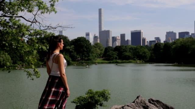 Central Park New York lake chillin video