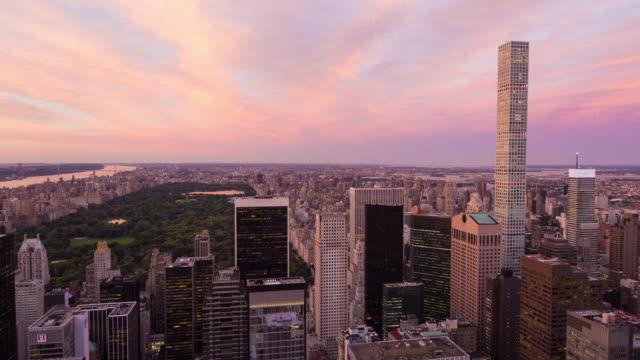 Central Park Sunset Timelapse New York City video