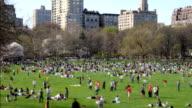 Central Park Time Lapse video