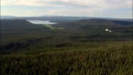 Central Plateau Near Mallard Lake  - Aerial View - Wyoming,  Teton County,  helicopter filming,  aerial video,  cineflex,  establishing shot,  United States video