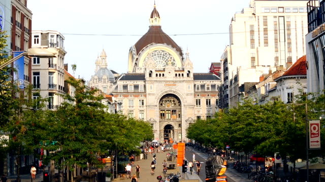 Central Station Antwerp video