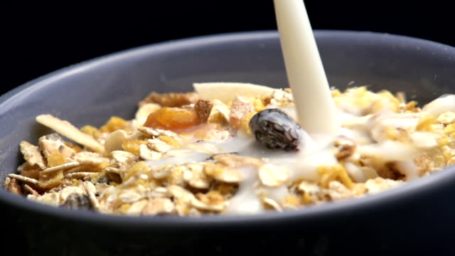 Cereals muesli video
