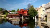 Certovka river in Prague video