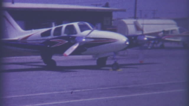 Cessna Fueling Station 1950's video