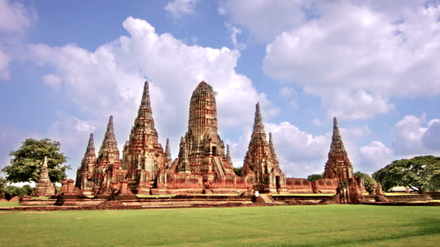 Chaiwattanaram Temple Thailand video