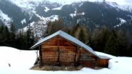 Chalet near  Heremence village. video