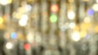 Chandelier Blurred (Historischer barocker Leuchter) video