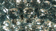 Chandelier crystal and blur light video