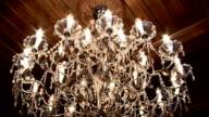 chandelier lights up video