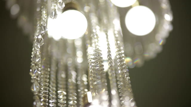 chandelier with the stone of kristalov video