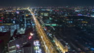 T/L WS HA PAN Chang'An Avenue and Central Business District / Beijing, China video