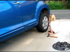 Changing the tire 02 video
