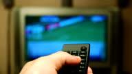 HD - TV channel surfing video