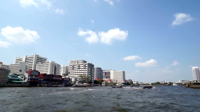Chao Phraya River, Bangkok, Thailand Taken from ferry video