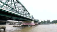 Chao phraya river in Bangkok thailand video