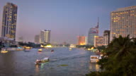Chao Phraya River video