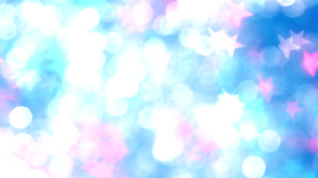 Chaotically Moving Colored Particles video