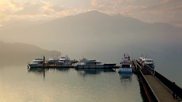 Chaowu Wharf, Sun Moon Lake, Taiwan video
