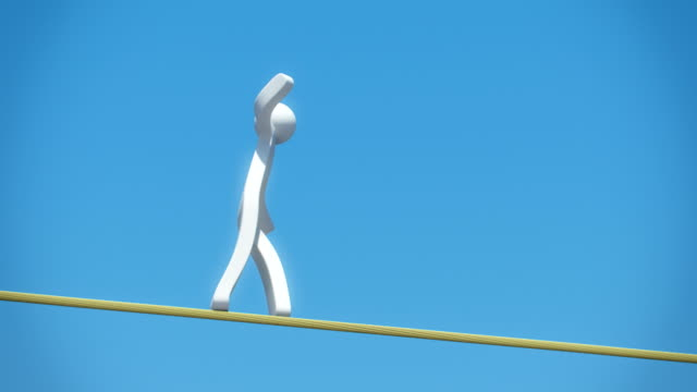 3D Character - Rope Walking video