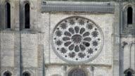 Chartres Cathedral  - Aerial View - Centre, Eure-et-Loir, Arrondissement de Chartres, France video