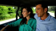 chauffeured car couple taxi limo video