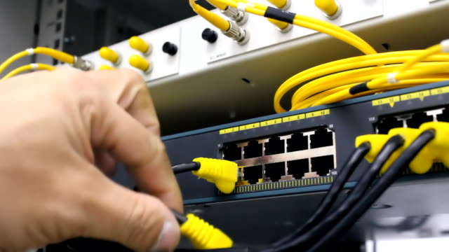 Check network cable Link video