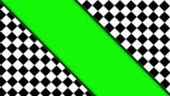 Checker Door and Green Screen video