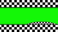 Checker Door, with Green Screen, Loop video