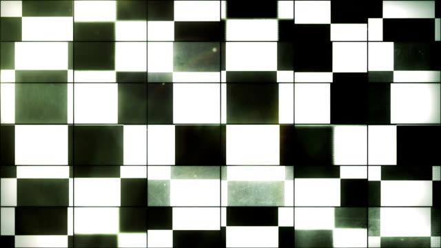 Checkered Flag - Grid Panel Loop (Full HD) video