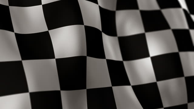 Checkered Flag High Detail - Looping video
