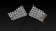 Checkered Flag Title Card (With Alpha) video