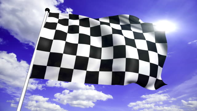 checkered flag (loop) video