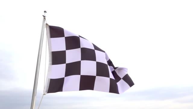 Checkered Flag video