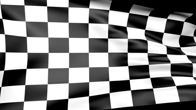 Checkered Flag with Alpha video