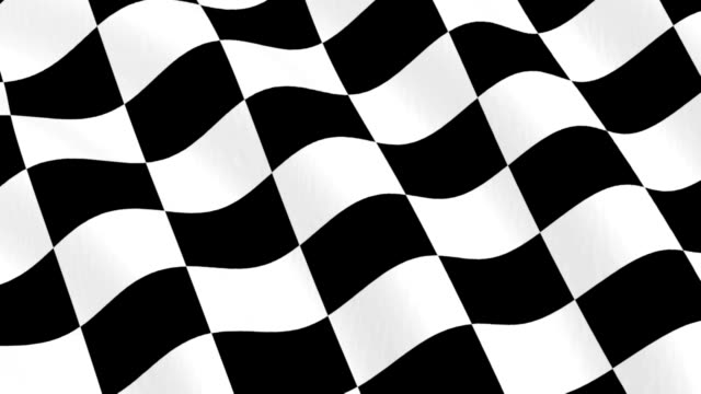 Checkered Racing Flag video