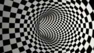 Checkered Tunnel (Loopable) video