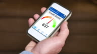 Checking Credit Score on Smartphone Good video
